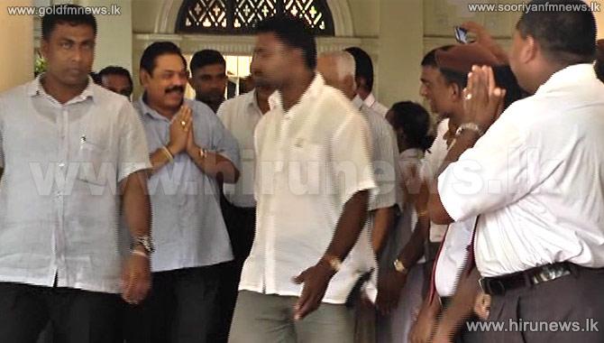 Ex-President+MR+visits+Shashi+at+CNH