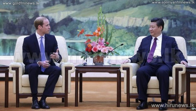 Prince+William+meets+Chinese+President+Xi+Jinping