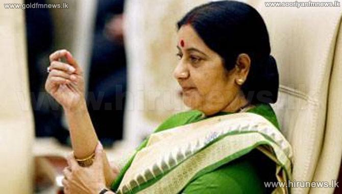Sushma+Swaraj+arrives