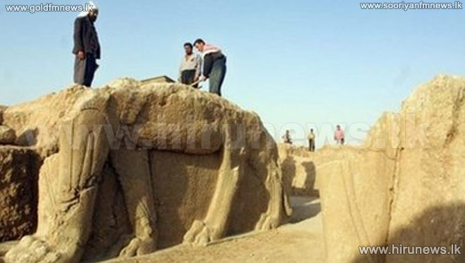 ISIS+Destroys+Iraqi+Archaeological+Site+of+Nimrud