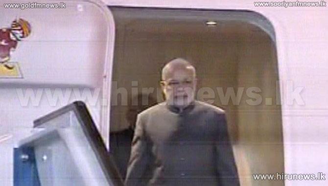 PM+Modi+arrives+