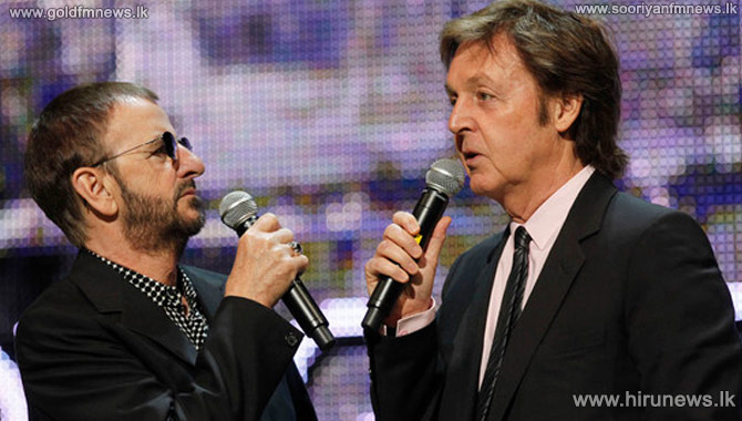 Sir+Paul+McCartney+to+induct+Ringo+Starr+into+Hall+of+Fame