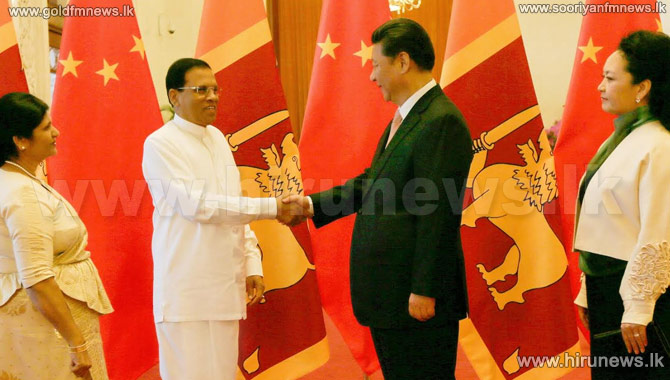 Sino-Lanka+Counterparts+hold+bilateral+talks+