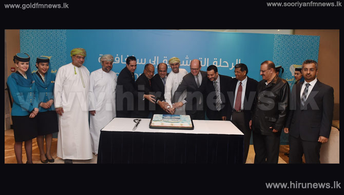 VIPs+Guests+Join+Oman+Air%E2%80%99s+Inaugural+Flight+To+Singapore