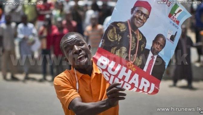 Buhari+ahead+in+tight+Nigeria+Poll