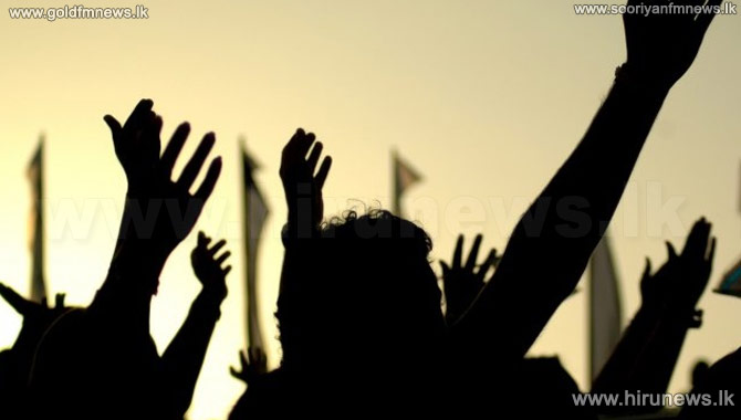 Protest+in+Battaramulla+by+RDA