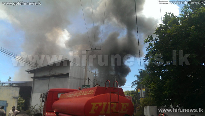 Maharagama+factory+manufacturing+shoes+for+tri-forces+caught+fire+