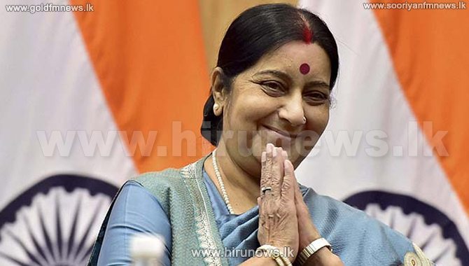 Indian+FM+Swaraj+To+Meet+The+PM+Today