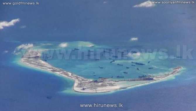 China+Sends+Fighter+Jets+To+Contested+Island+In+South+China+Sea