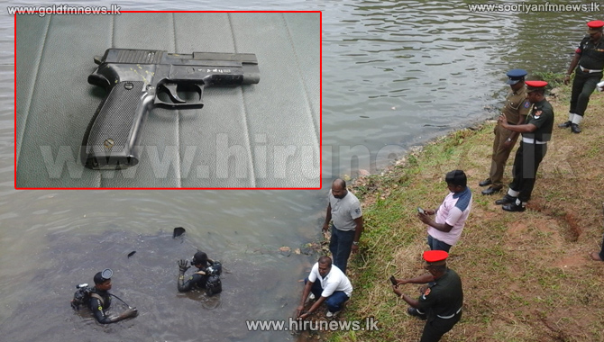 Update+%3A+Pistol+used+in+the+shooting+of+army+colonel%E2%80%99s+wife+in+Malabe+found+in+Diyawanna+Oya