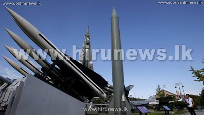 North+Korea+fires+three+ballistic+missiles