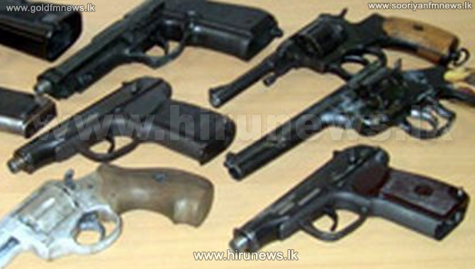 A+cache+of+old+firearms+unearthed+from+the+Matale+district+secretariat+premises