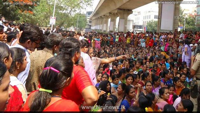 1+Dead+In+Police+Firing+In+Bengaluru+During+Protests+Over+Cauvery+Dispute