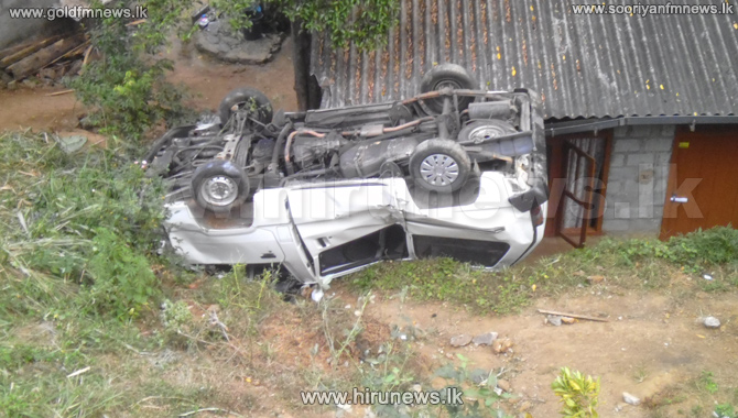 Four+injured+when+van+plunged+into+a+ditch+in+Kandy-+%5Bphotos%5D