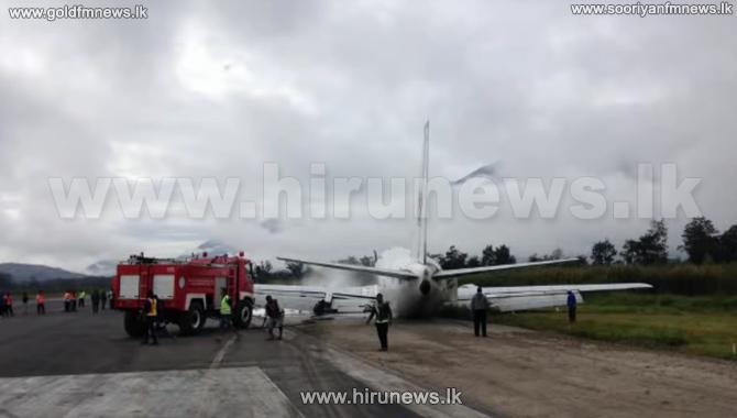 Cargo+Plane+crash+lands+in+Indonesia