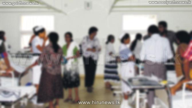 Nursing+staff+of+the+Siyambalanduwa+Base+Hospital+launches+protest+