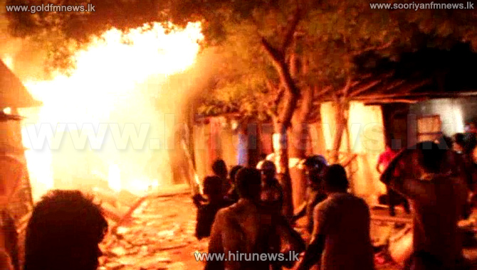 100+shops+damaged+in+Kilinochchi+fire+