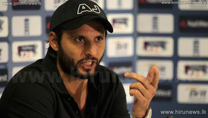 Move+to+give+Afridi+farewell+series+shelved