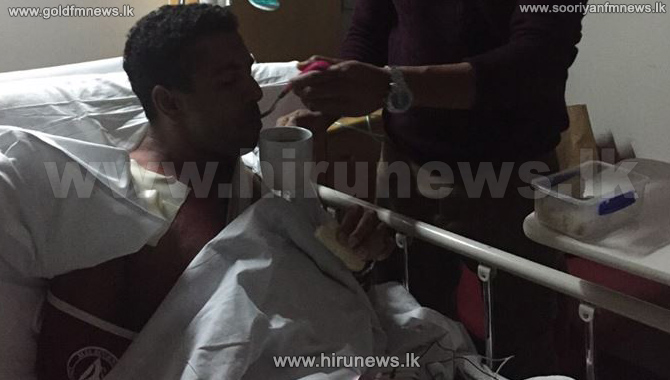 Dhammika+Prasad+admitted+to+an+Australian+hospital+for+a+surgery++
