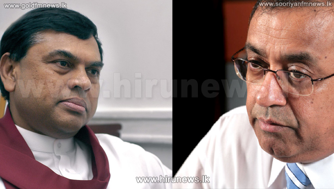 Basil+and+P+B+Jayasundara+appears+before+the+Presidential+commission+of+inquiry