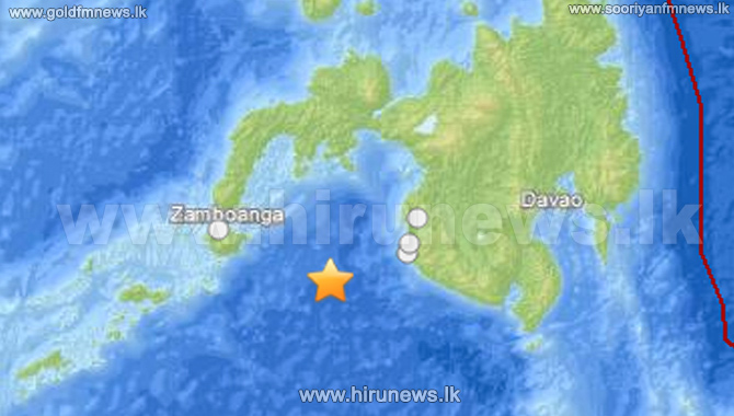 Strong+6.3+magnitude+earthquake+of+strikes+off+Philippines