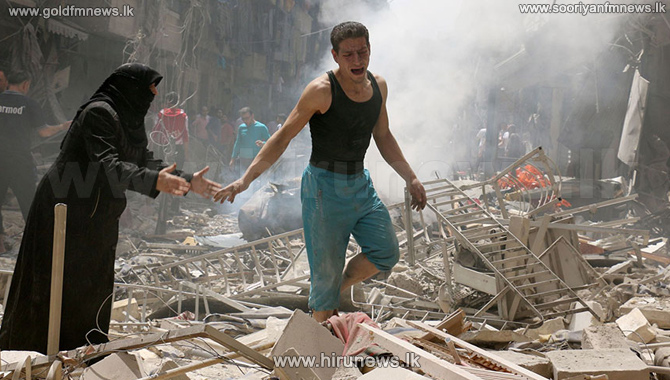 Syria+airstrikes+kill+85+people+in+Aleppo