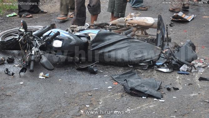 Uni+student+dies+in+fatal+vehicle+crash+in+Peradeniya+