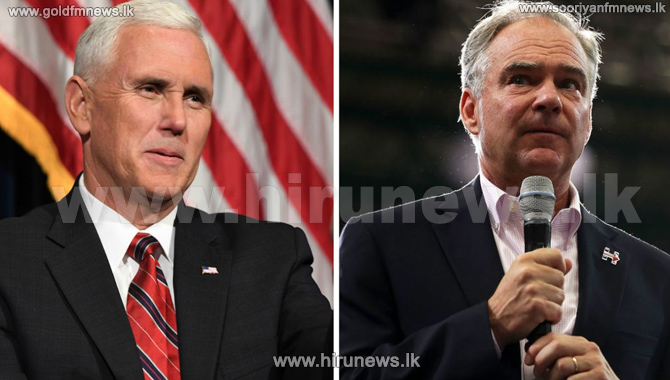 Pence+and+Kaine+square+off+in+vice-presidential+debate