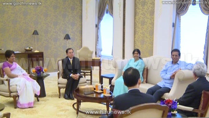 President+meets+the+Thai+PM+today+