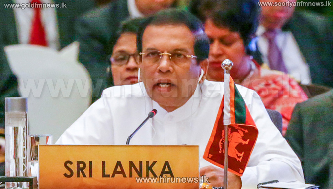 Sri+Lanka+ready+to+lead+the+business+innovation+in+the+region%2C+President+says+at+Asia+Cooperation+Dialogue+