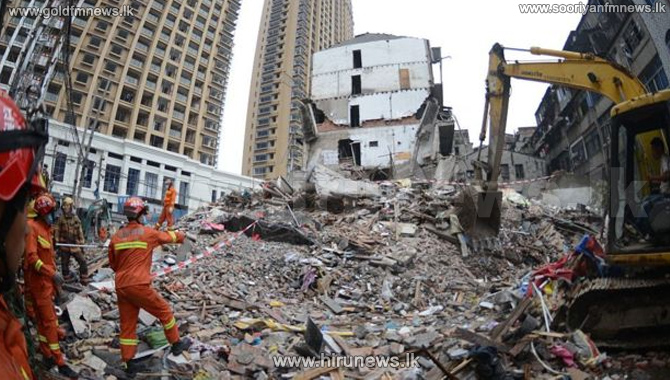 China+building+collapse+kills+at+least+22