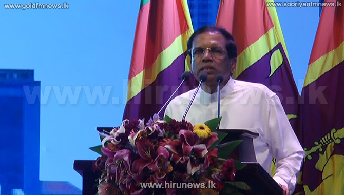 Assumed+presidency+to+protect+the+country-+President+Sirisena+
