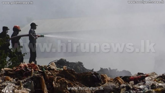 Police+commences+investigation+into+Badulla+garbage+dump+fire+