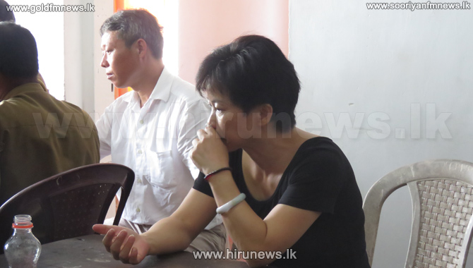 Body+of+the+young+Chinese+woman+handed+over+to+her+family+