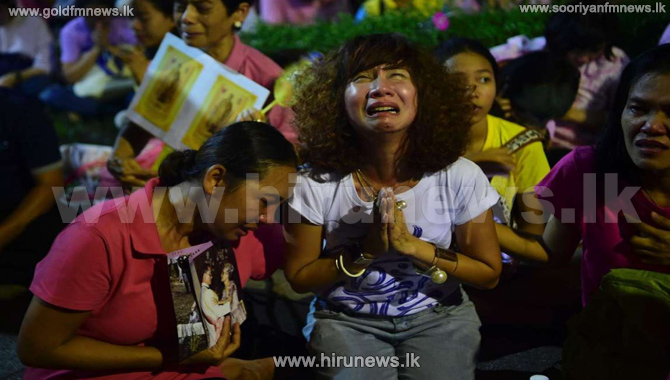 Thailand+mourns+death+of+King