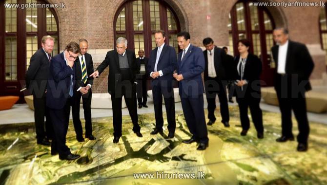 PM+Ranil+Wickremesinghe+meets+leading+gem+entrepreneurs+in+Belgium+