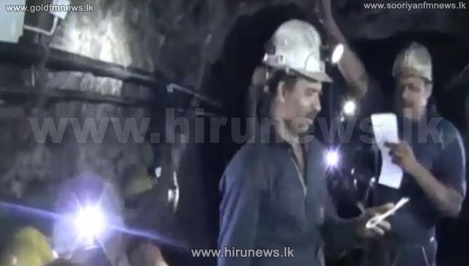 Kahatagaha+miners%27+fast+continues
