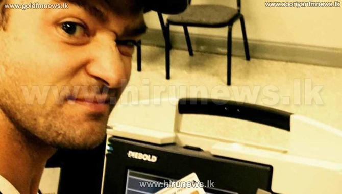 Justin+Timberlake%27s+voting+selfie+may+have+broken+the+law
