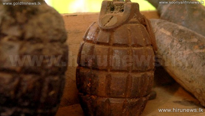 Two+hand+grenades+found+in+Medawachchiya+and+Gallewa