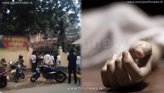 Person+who+killed+a+woman+at+a+guest+house+in+Kataragama%2C+commits+suicide