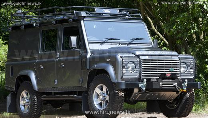 A+bullet-proof+Defender+worth+70+million+rupees+recovered+from+Batticaloa