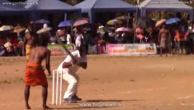 Here+is+the+cricket+match+between+Adivasis+and+MPs+
