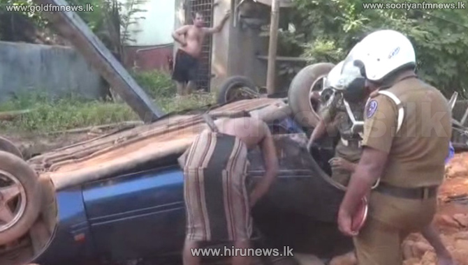 Two+wounded+in+vehicle+crash+in+Bandaragama+