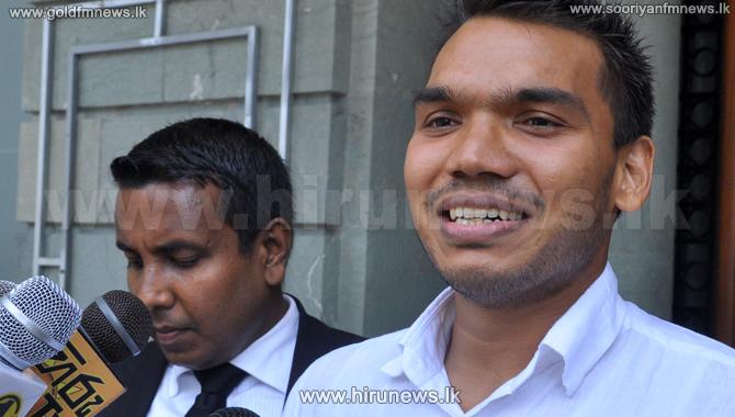 MP+Namal+Rajapaksa+says+that+he+is+not+guilty++