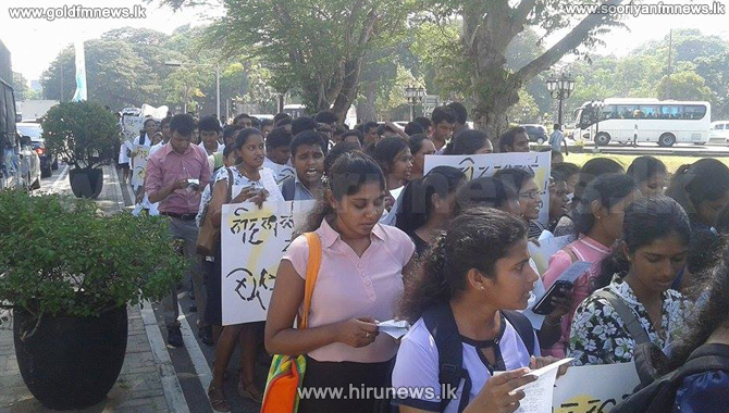Protest+March+against+SAITM+in+Colombo-+%5Bphotos%5D+