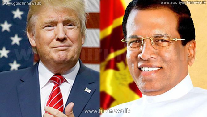 Let%E2%80%99s+enhance+cooperation+between+our+two+Countries+%E2%80%93+President+Sirisena+says+in+his+wish+to+President+Trump