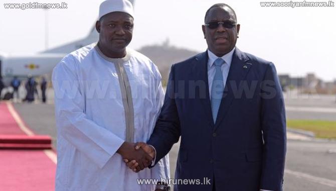 New+Gambian+president+Adama+Barrow+returns+home+to+joyous+scenes+