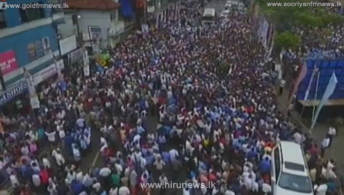 HEAVY+TRAFFIC+CONGESTION+IN+NUGEGODA