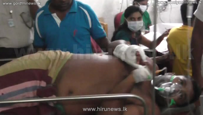 Batticaloa+Land+Reform+Commission+Director+who+stood+against+the+Erawur+illegal+land+acquisition+shot+and+injured+++