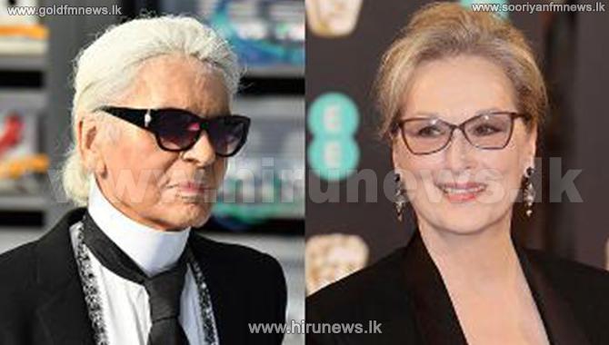 Karl+Lagerfeld+And+Meryl+Streep+In+Dispute+Over+Oscars+Dress